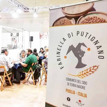 La Farinella di Putignano a Terra Madre Salone del Gusto di Torino
