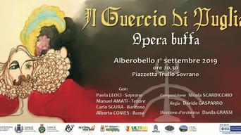 «Il Guercio di Puglia, tra parole e musica»: in scena ad Alberobello domenica 1° settembre