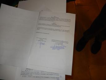 Alberobello, la firma del protocollo UNESCO