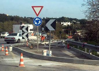 Divieto di Circolazione nella rotatoria di via Martiri delle Foibe - via Alberobello, per lavori di