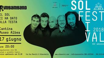 Sol Festival 2018: 'Rimbamband' in concerto