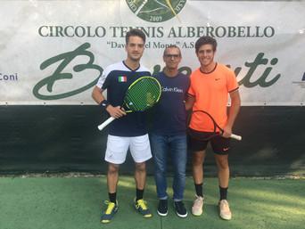 """Alberobello: 2^ Trofeo Nazionale di Tennis """"Città dei Trulli"""" 3^ Cat."""