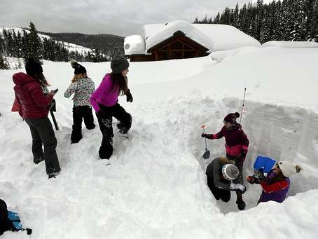 Middle schoolers assess avalanche safety