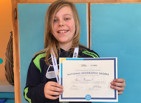 Sussex student going to State Geography Bee