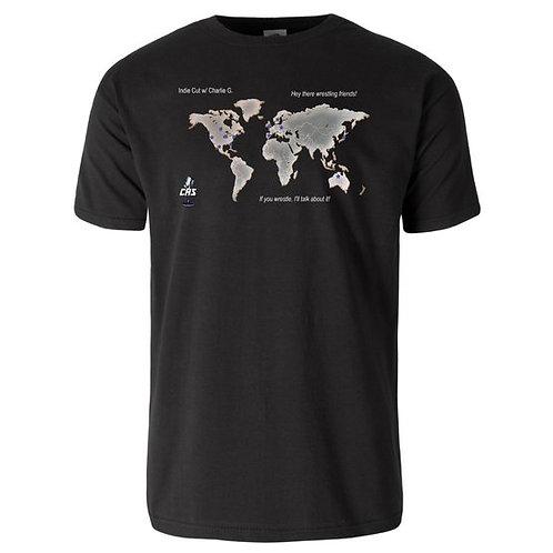 Indie Cut Map T-shirt
