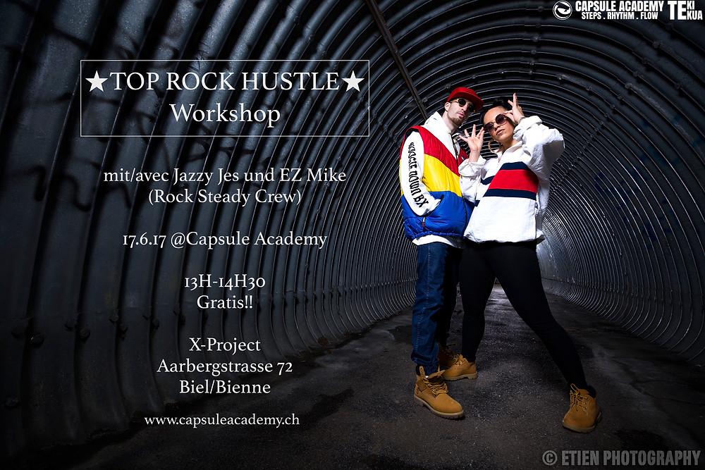 TOP ROCK HUSTLE workshop