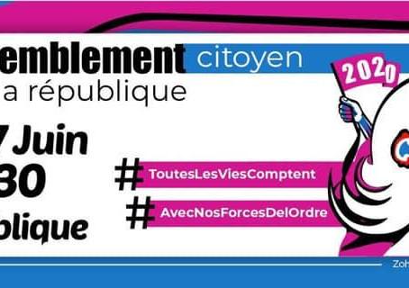 """""""All Lives Matter"""" : un rassemblement en soutien aux forces de l'ordre prévu samedi à Paris"""