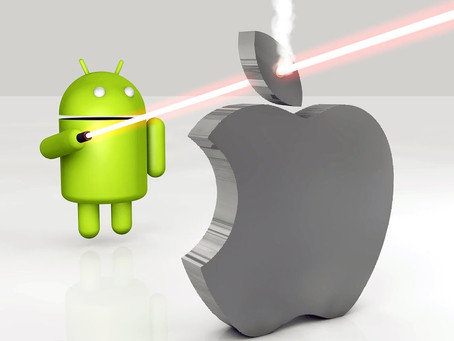 Android vs iOS - the battle for your telemetry data