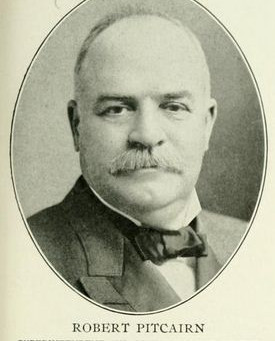 Robert Pitcairn's connection to Andrew Carnegie