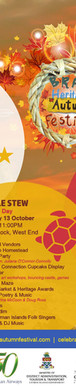 2018 Brac Heritage Autumn Festival Flyer