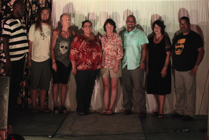 Poets at Open Mic 2015