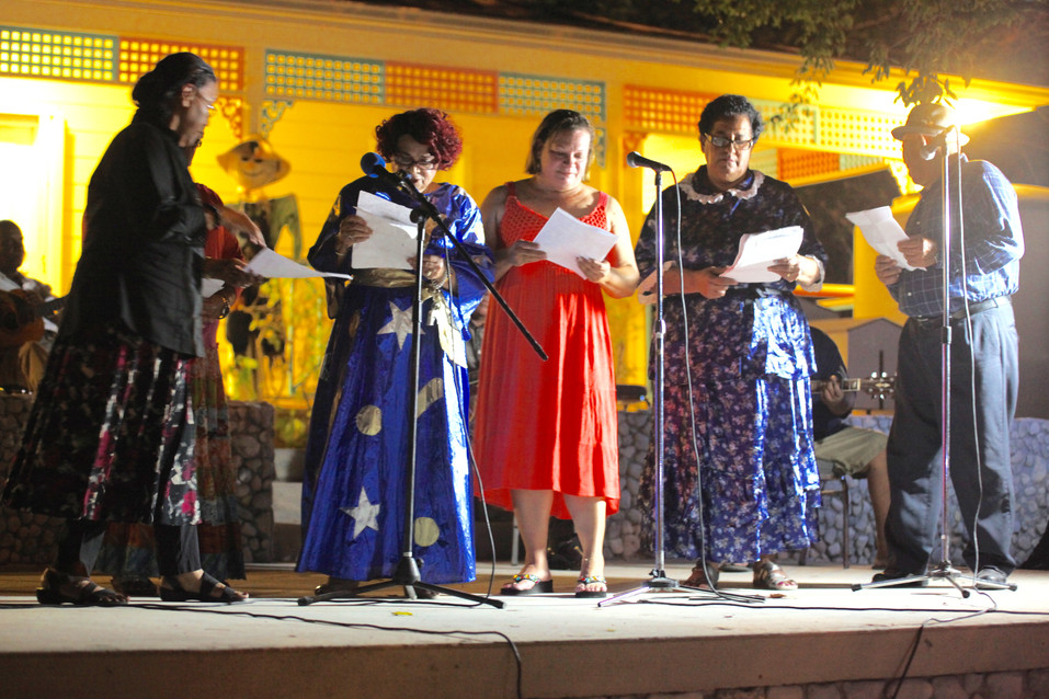 Folklore skits and songs