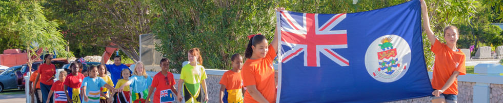 Girls Guides Flag Parade