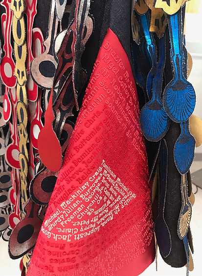 Iyatikyu's Cloak, detail