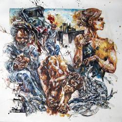 ohne Titel (Triptychon II)
