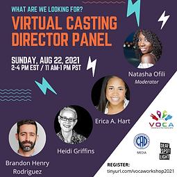 Virtual Casting Director Panel