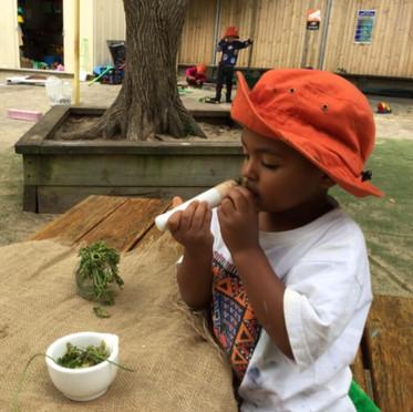 Creative Play at Apples & Honey Preschool
