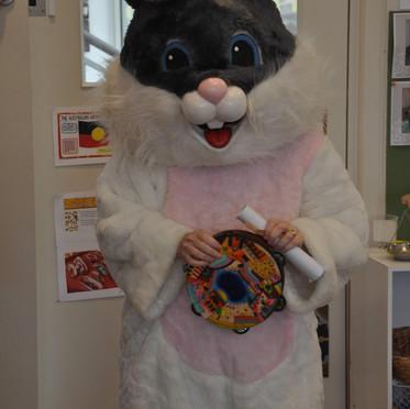 Visting Rabbit!