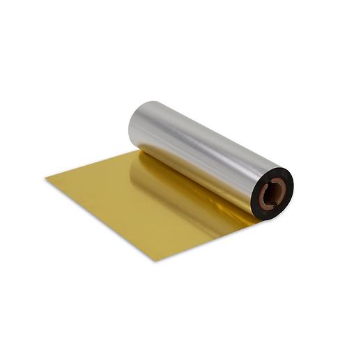 Tisková páska RTS (C) zlatá metalická (krycí)
