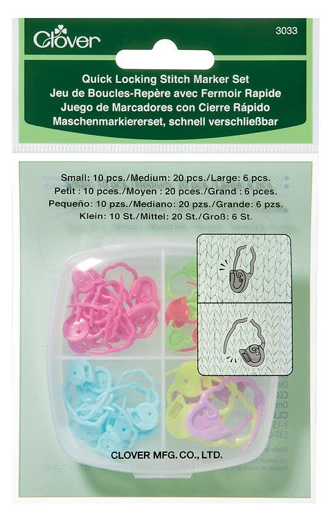 Quick Locking Stitch Marker Set