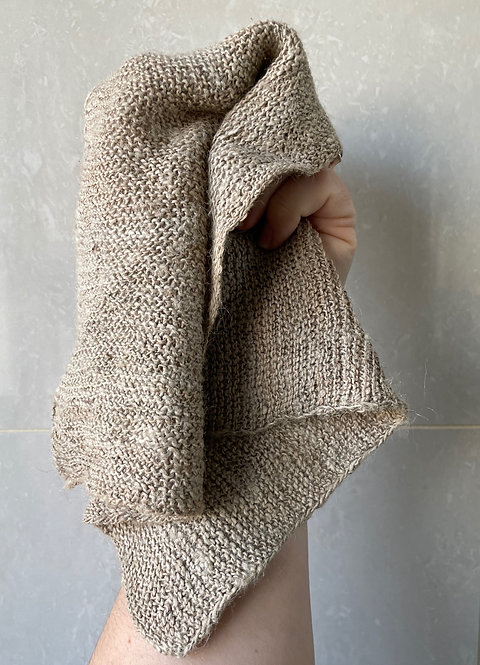 Nettle washcloth