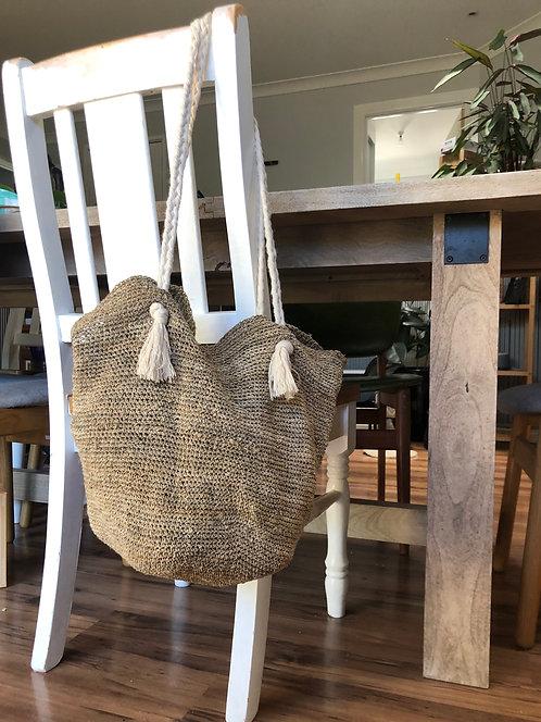 Hemp bag crochet kit