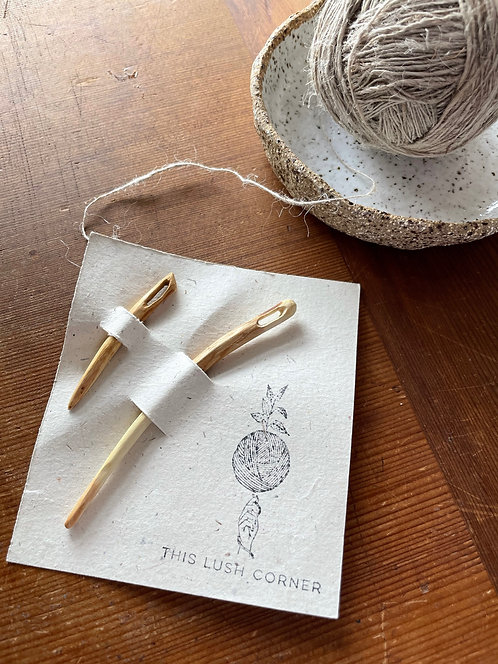 Hand carved needle- Sets