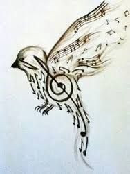 A nightingale must sing