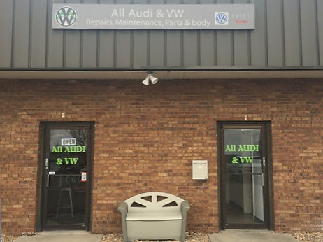 Entrance to AllAudi & VW