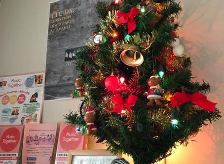クリスマスツリー飾ったよ