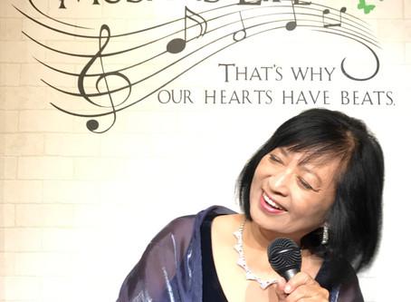 Music Togetherの研修会が12月にあるもんだから、関東のどこかで歌って帰ってくるのが嬉しいなと思ってるの。