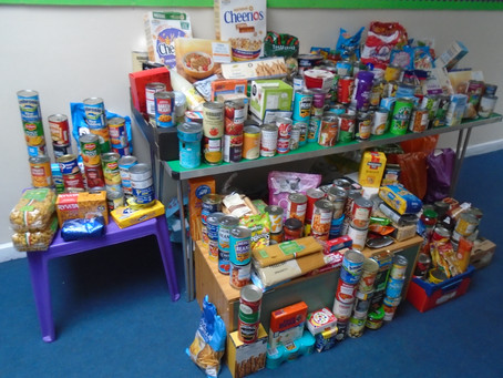 Fantastic Food Bank Donations!