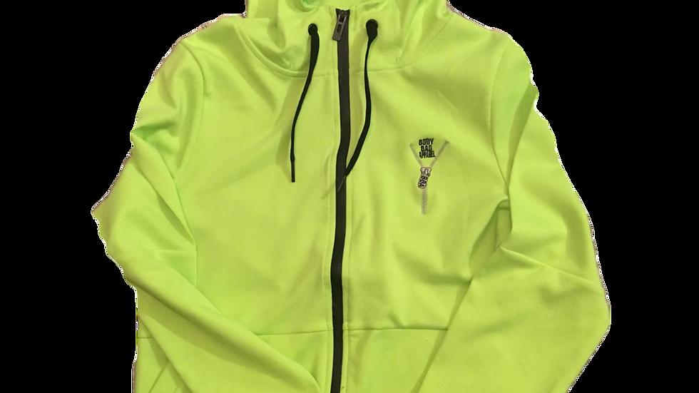 Body Bag Hoodie Green