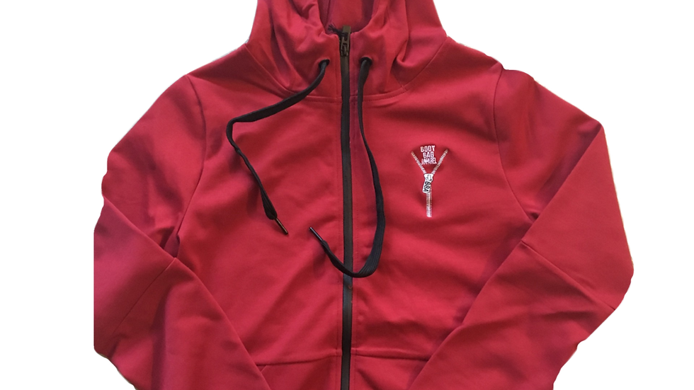 Body Bag Hoodie Red (SOLD OUT )