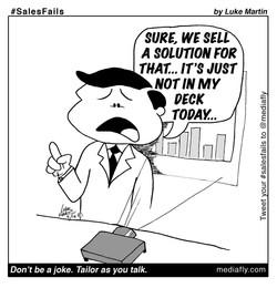 #SalesFails: Tailor as you Talk