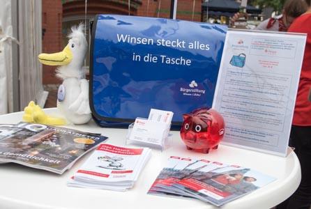 Jetzt gibt es die Winsen-Tasche auch in der Tourist-Information am Schlossplatz