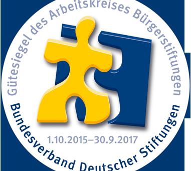 Bürgerstiftung erhält das begehrte Gütesiegel des Bundesverband Deutscher Stiftungen