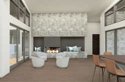 Fireplace - Morning Room with furniture.