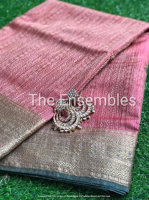 Handwoven Jacquard Banarasi saree