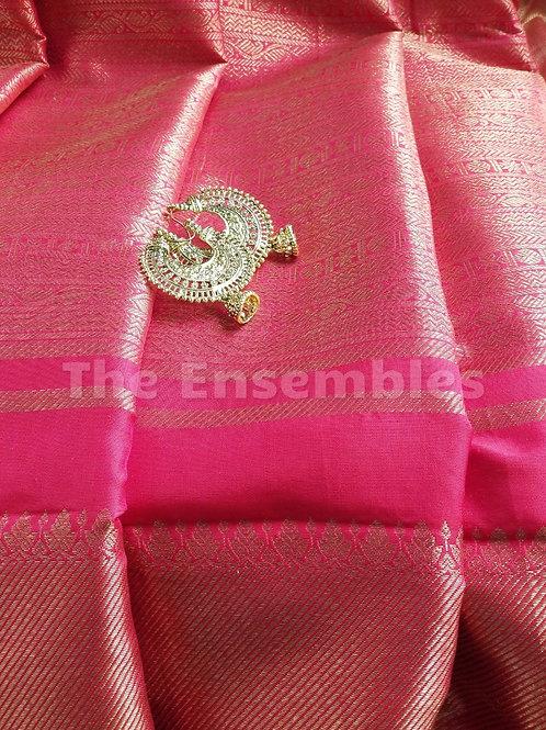 Pure Kanchivaram Silk Saree - Red