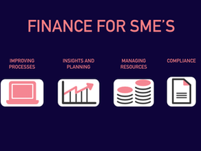 The Finance Function for SME's and Startup's: The Basics