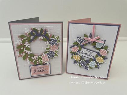 Arrange A Wreath Easter card