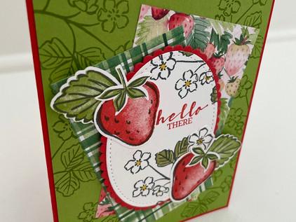 Sweet Strawberry Friendship Card