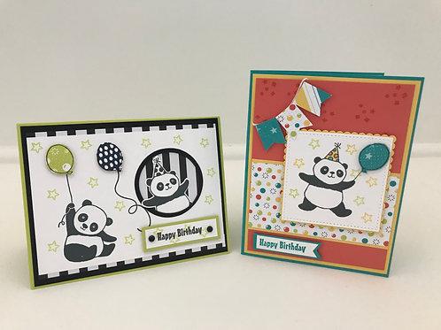 Party Panda Cards