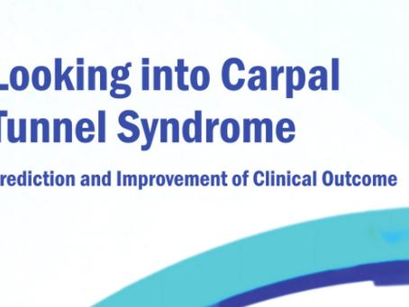 Dissertation defense Verena Festen-Schrier: Looking into Carpal Tunnel Syndrome