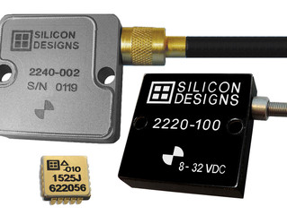 Silicon Designs Announces MEMS Capacitive Accelerometers and JCC/LCC Chips for Aerospace Testing