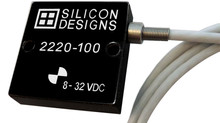 Model 2220 Series MEMS Capacitive Accelerometers Support Zero-to-Medium Frequency Instrumentation
