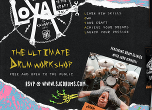 VANS/SJC Drums Presents: The Loyal To The Craft Tour featuring Josh Manuel of ISSUES