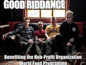 New Good Riddance songs! 100% of Proceeds to World Food Programme