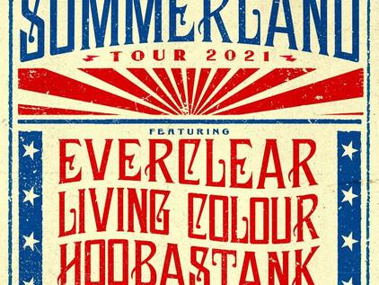 Summerland Tour 2021 Featuring Everclear, Living Colour, Wheatus, Hoobastank Kicks Off This Week!